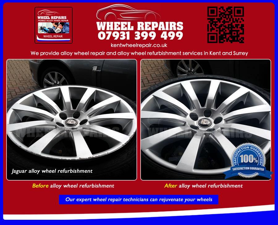 where can I get my alloy wheels refurbished in Oakwoodhill RH5