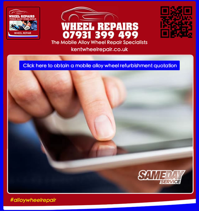 how much does it cost to repair alloy wheels in Oakwoodhill RH5