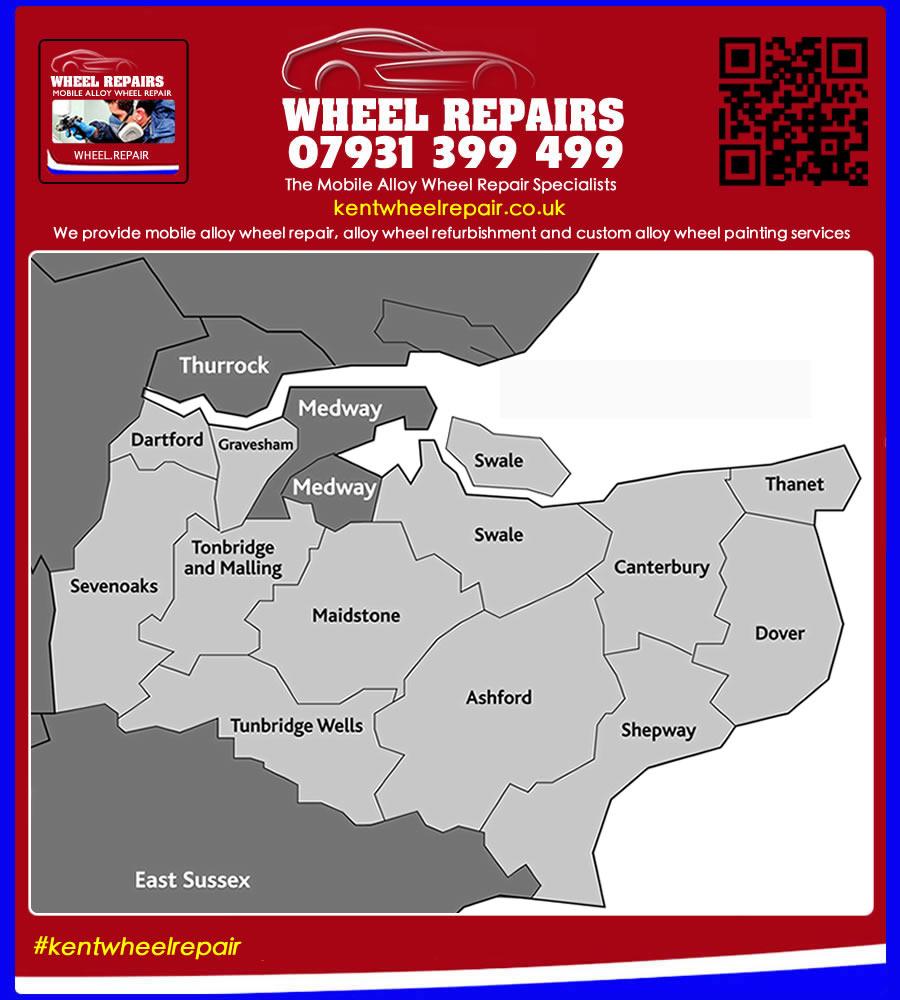 alloy wheel refurbishment in Kent