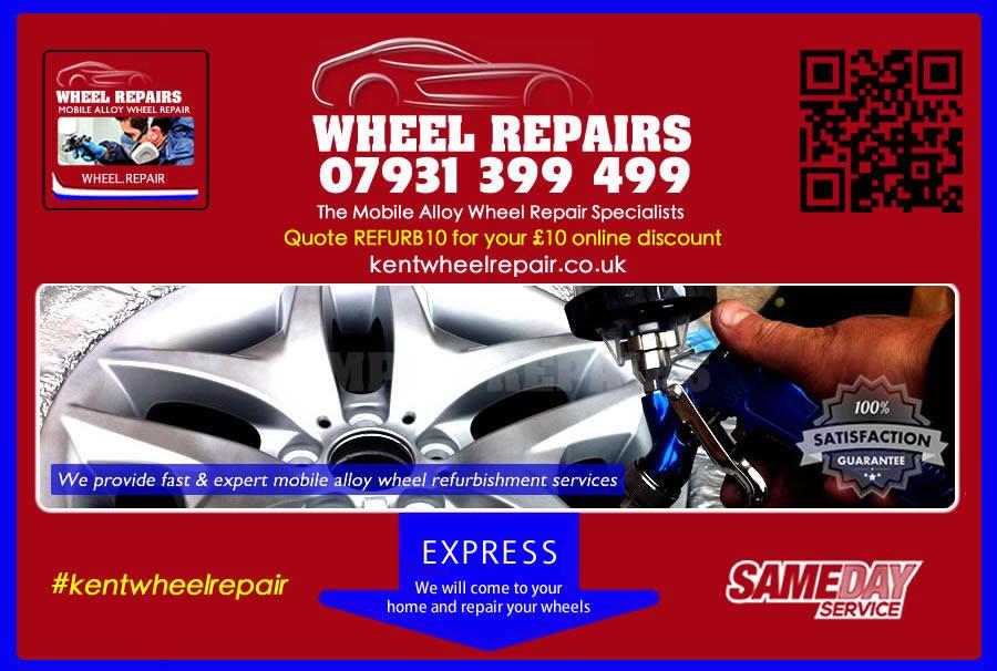 alloy wheel repair kent
