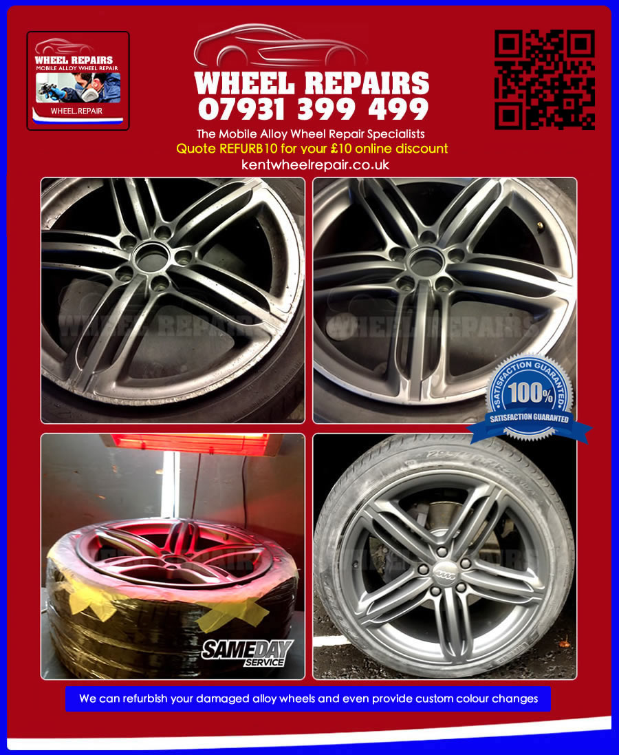 audi alloy wheel refurbishment