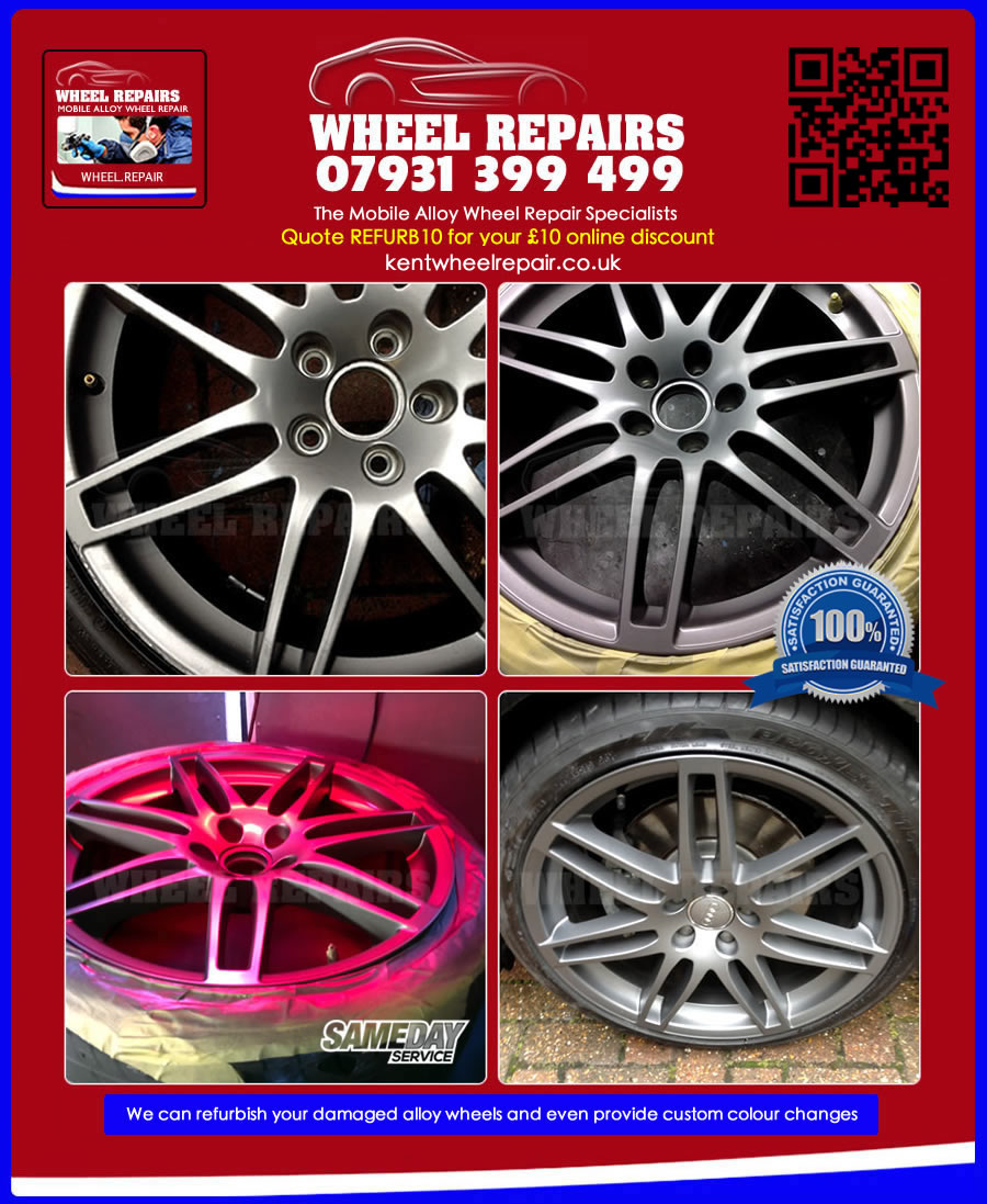 audi wheel refurbishment