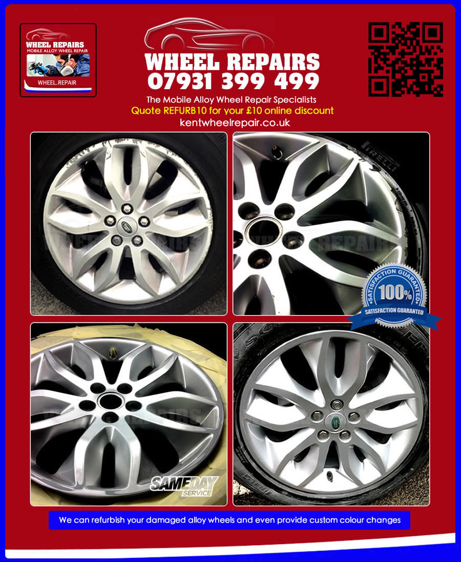 range rover wheel refurbishment